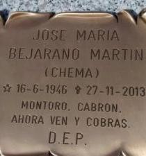 Hombre le dedica el epitafio de su tumba al ministro de Hacienda español