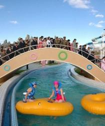 Los bikinis están prohibidos en el parque acuático más exclusivo de Corea del Norte