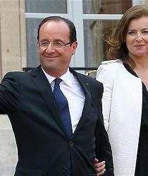 La expareja del presidente francés publica un libro sobre su paso por el Elíseo