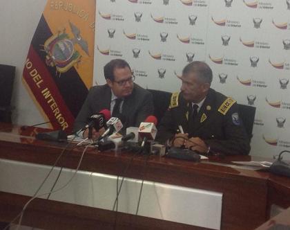 Once detenidos y 1 6 toneladas de droga incautadas en for Twitter ministerio del interior ecuador