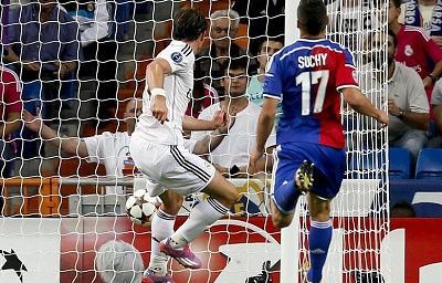 Real Madrid venció 5-1 a Basilea