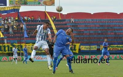 Delfín vencíó 1-0 a la Espoli en el estadio Jocay