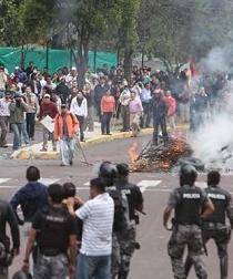 Sesenta personas culpables cuatro años después de sublevación en Ecuador