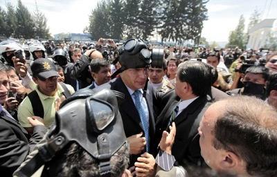 La Fiscalía de Ecuador presentará informe sobre el 30-S