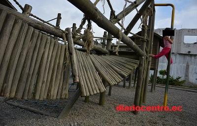Parques infantiles de Santo Domingo se han convertido en