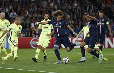 El PSG inclina al Barcelona en una noche mágica en París (Crónica)