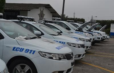 Nuevos patrulleros llegaron a Santo Domingo de los Tsáchilas