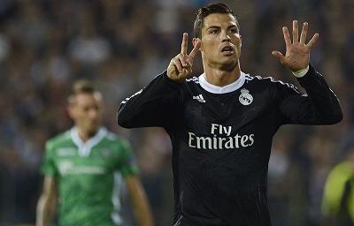 Cristiano y Benzema le dan la victoria al Real Madrid 1-2 ante el Ludogorets (Videos)