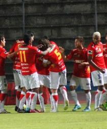 Deportivo Cuenca empató 2-2 ante Olmedo en el Olímpico de Riobamba
