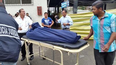 Hombre asesinado con una tabla de picar será velado en El Carmen