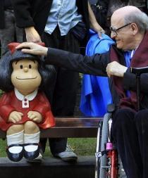 Mafalda se une a Woddy Allen como icono de la ciudad de Oviedo