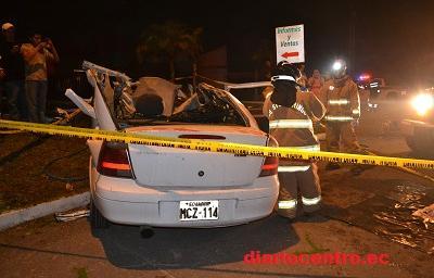Accidente de tránsito deja tres muertos y tres heridos en Santo Domingo