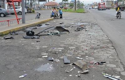 Accidente de tránsito dejó un muerto y dos heridos