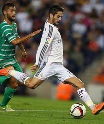 Real Madrid goleó 4-1 al Cornellà en su debut de Copa del Rey