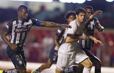 Sao Paulo venció 4-2 a Emelec por Copa Sudamericana