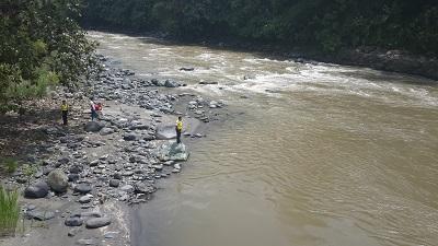 Menor se habría ahogado en el río Toachi de Santo Domingo de los Tsáchilas