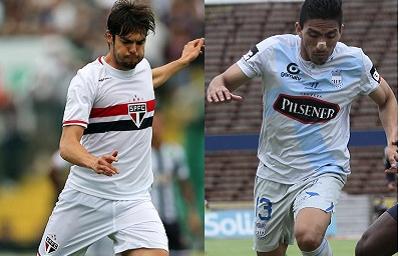 Emelec y Sao Paulo se enfrentan a las 17h15 por Copa Sudamericana