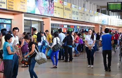 Terminal Terrestre implementará al menos 150 frecuencias extras durante feriado