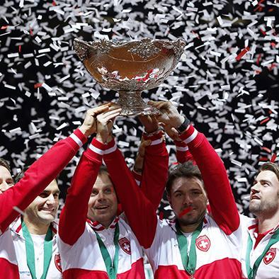 Suiza gana la Davis