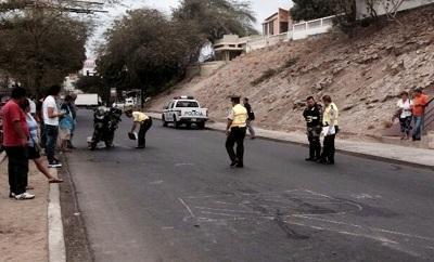 Agente de la Policía fue atropellado