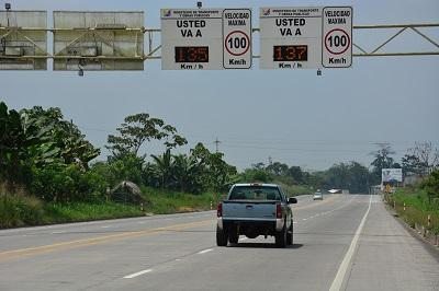 Radares de la red vial estatal no están operando en Santo Domingo