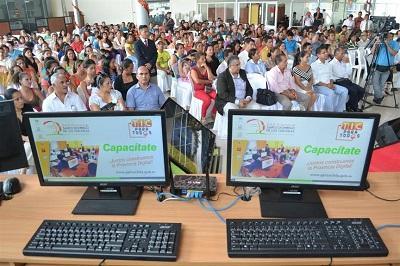 Planteles educativos de Santo Domingo recibieron computadoras