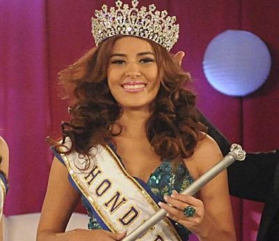 Entierran a asesinada Miss Honduras Mundo y su hermana