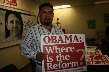 La reforma migratoria, promesa pendiente desde la campaña de Obama en 2008