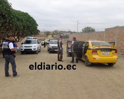 Taxista está grave tras recibir tres balazos