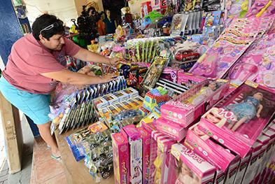 Comercio navideño se prendió en Picoazá