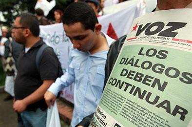 """Santos afirma que quiere """"continuar con las negociaciones"""""""