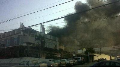 Nuevo incendio en las bodegas Juan Eljuri de Guayaquil