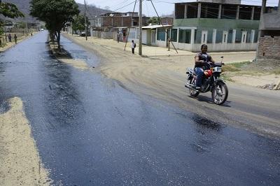 Reinician los trabajos en las calles de Portoviejo