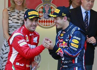 Fernando Alonso deja Ferrari y Sebastian Vettel ocupará su lugar