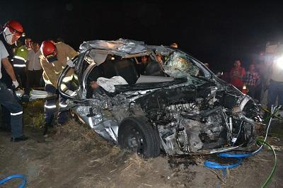 Sobreviviente en accidente de tránsito se encuentra grave