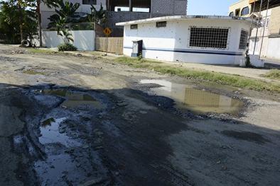 15 días tiene daño en la tubería de agua potable