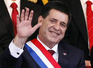 Presidente de paraguay cumple agenda en el país