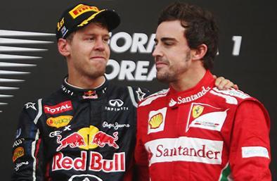 Sebastian Vettel ocupará lugar de Fernando Alonso
