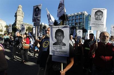 América Latina pide justicia por los estudiantes mexicanos
