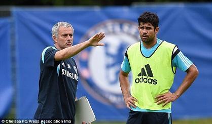 Mourinho confirma que Diego Costa está recuperado de su lesión