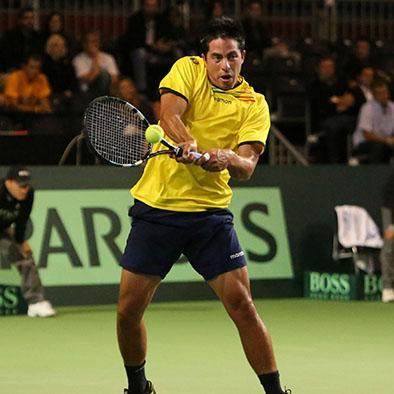 El mantense Gonzalo Escobar se convierte  en la primera raqueta de Ecuador