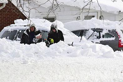Temporal de nieve deja ya 13 muertos en Nueva York