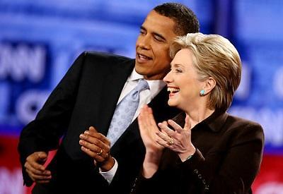 Obama dice que Hillary Clinton sería 'una gran presidenta' en 2016