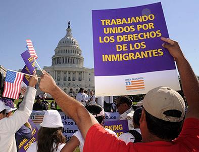 Sigue la lucha por reforma migratoria