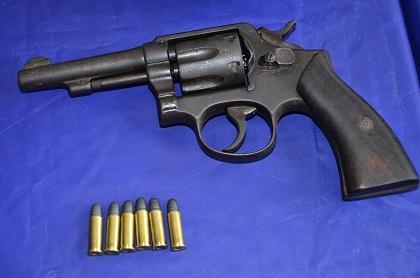 Detienen a un hombre por portar arma de fuego