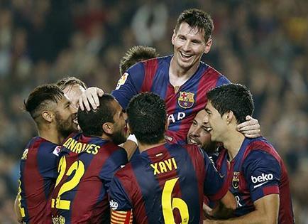 El Barça busca el liderato y Messi, superar a Raúl como goleador