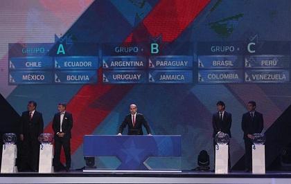 Ecuador se enfrentará a Chile en el partido inaugural de la Copa América 2015
