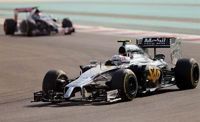 McLaren prueba en Abu Dabi el coche para 2015 con motor Honda