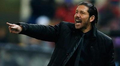 Simeone: 'Mucha tensión, intensidad y velocidad' frente a Olympiacos