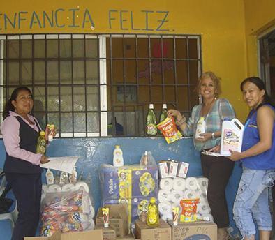 Centros infantiles reciben ayuda social